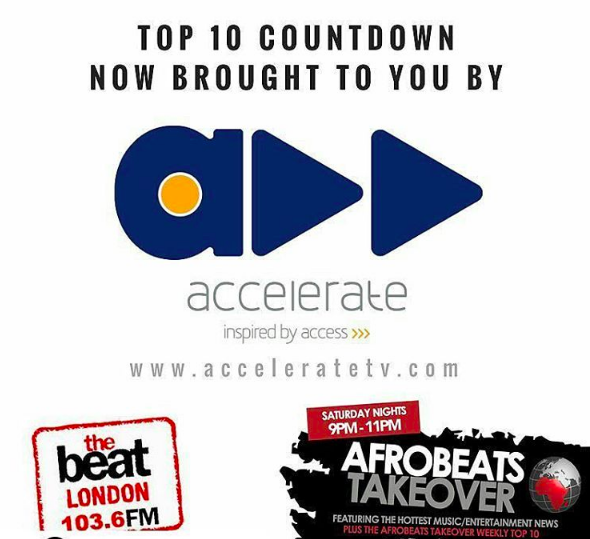 Accelerate and The Beat FM UK Afrobeats