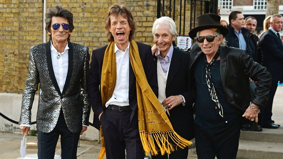The Rolling Stones Working On New Album - AccelerateTv Rolling Stones News